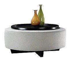 Clip Round Table Ottoman