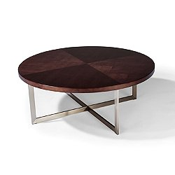 Mabel Maple Round Cocktail Table