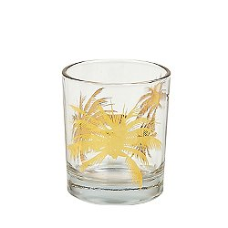 Palm Tree Old Fashioned Set of 4