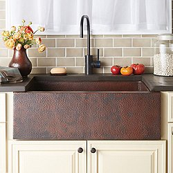 Pinnacle Copper Kitchen Sink
