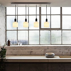 Oblo Linear Multi-Light Pendant Light