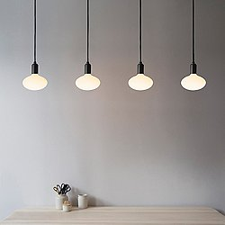 Oval Linear Multi-Light Pendant Light