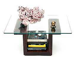 SQG22 Rectangular Glass Top Table