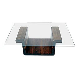 SQG42 Rectangular Glass Top Table