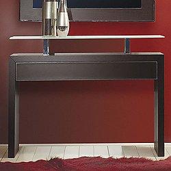 Ade Console Table, 35-In. Gray Oak