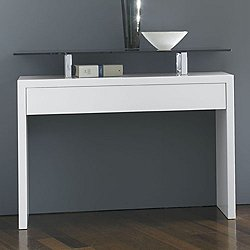 Ade Console Table, 42-In. Matte Lacquer