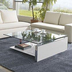 Fan Coffee Table, Matte Lacquer