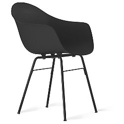TA Armchair with Metal Legs