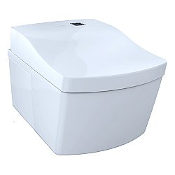 Neorest EW Wall Hung Dual Flush Toilet with Bidet Seat
