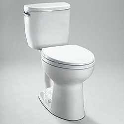 Entrada Close Coupled Toilet - Elongated Bowl
