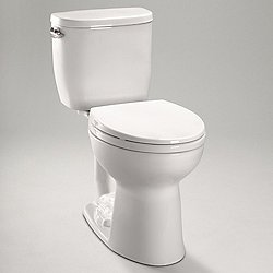 Entrada Close Coupled Toilet - Round Bowl