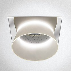 Aimes Ceiling-Mount Showerhead with LED Lighting