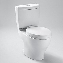 Aquia Elongated Two-Piece Dual Flush Toilet