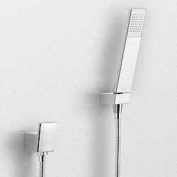 Legato Wall-Mount Rectangular Handshower Set