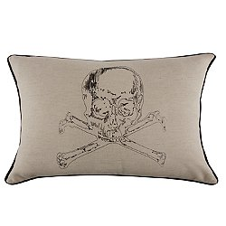 Crypt Embroidered Pillow 12x20
