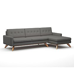 Luna 113-Inch Sofa with Chaise