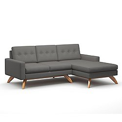 Luna 90-Inch Sofa with Chaise