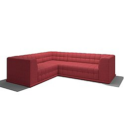 "Bump Bump 88"" x 102"" Corner Sectional"