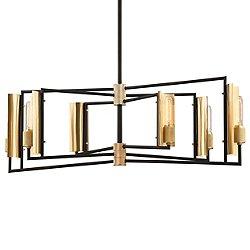 Emerson Six Light Linear Suspension Light