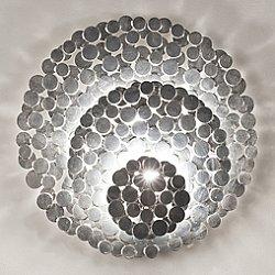 Tresor Wall Sconce (Silver/Small) - OPEN BOX RETURN