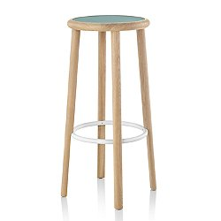 Solo Stool, Upholstered