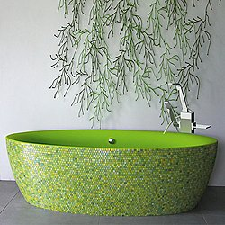 Dip Mosaic Tub