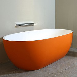 Stone One Color Touch Tub