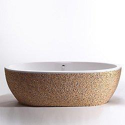 Stone One Pixels Driftwood Tub