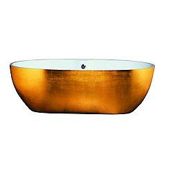 Stone One Split Gold Tub