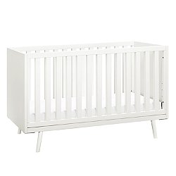 Nifty Timber 3-In-1 Crib, Warm White