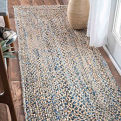 Hand Braided Eliz Jute Runner