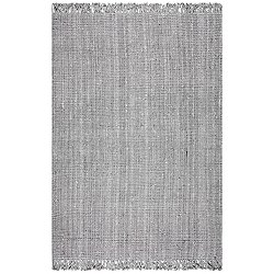 Hand Woven Chunky Loop Jute NCCL01G Rug