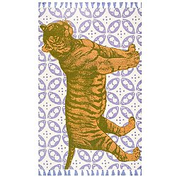 Thomas Paul Flatweave Tiger Rug