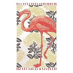 Thomas Paul Flamingo Tassel Rug