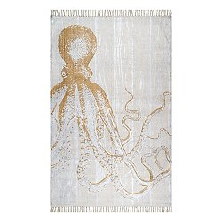 Thomas Paul Metallic Octopus Rug