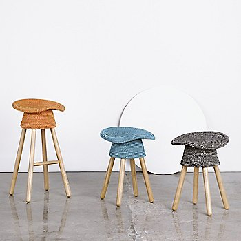 Shown with Coiled Counter Stool