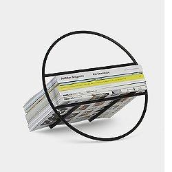 Hoop Magazine Rack