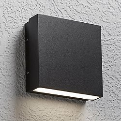 Alume AWL.60 Wall Sconce (One Light/Black) - OPEN BOX RETURN