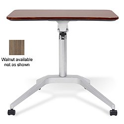 Workpad Adjustable Desk (Walnut) - OPEN BOX RETURN