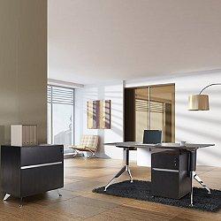 """3 Piece 63"""" Executive Desk Set"""