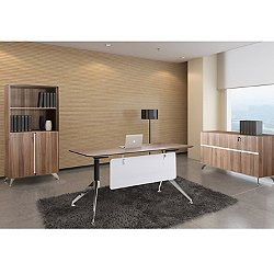 """3 Piece 71"""" Executive Desk Set"""