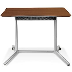 "Height Adjustable 38"" Sit-Stand Desk"