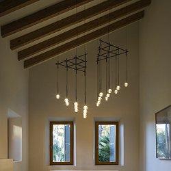 Algorithm Triangle Multilight Pendant