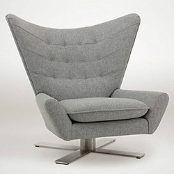 Louis II - Swivel X Base Chair