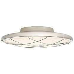 Dot Caged Flush Mount Ceiling Light