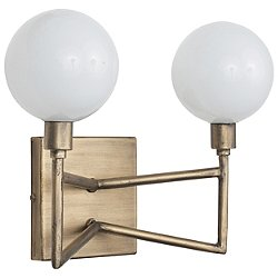 Bodie LED Vanity Light with Opal White Glass