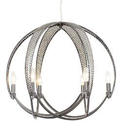 Casablanca 6 Light Ball Pendant Light