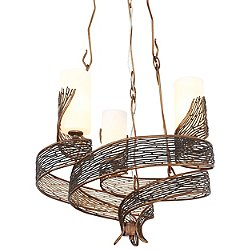 Flow 3 Light Chandelier