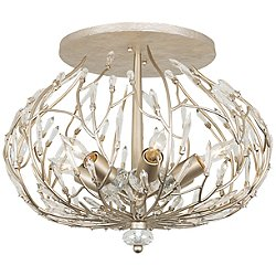 Bask 6 Light Semi-Flush Mount Ceiling Light