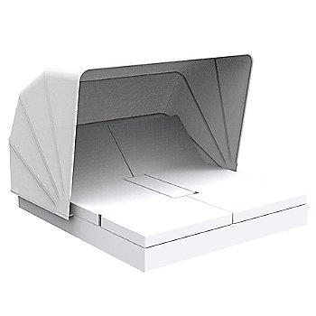 Vela 4 Reclining Square Daybed with folding sunroof Illumina